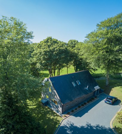 Camborne, UK: An aerial photo I took of the Park Collection apartment we stayed in