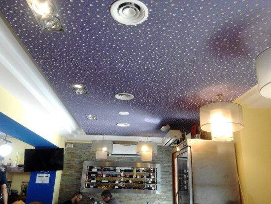 Les Vinyes Restaurant : Techo del Comedor