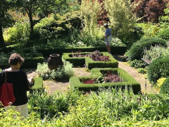 Washington, كونيكتيكت: garden hedges