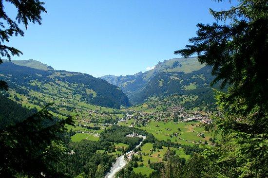Pfingstegg: Vistas desde la montaña a Grindewald