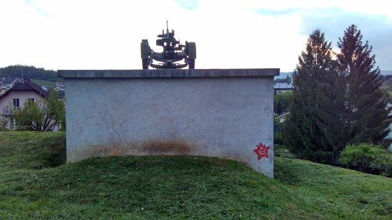 WW2 bunker in Drska, Novo mesto