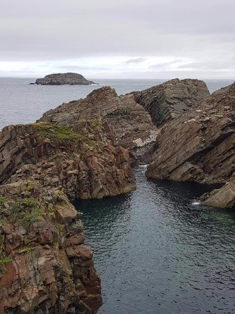 Bonavista, Kanada: Beautiful views from the cliff