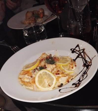 Il Monte Cristo: Raviolis aux saumons