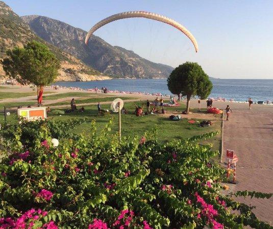 Club Belcekiz Beach Hotel: Para gliding at Oludeniz