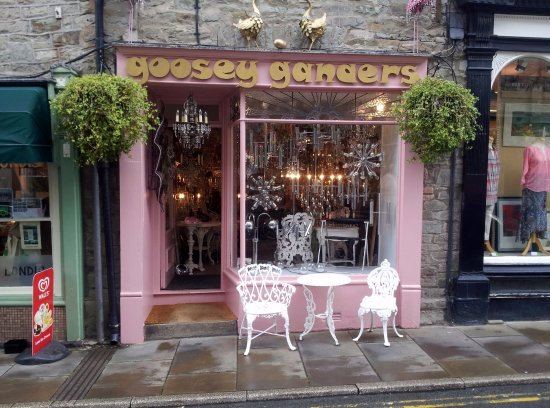 Hay-on-Wye, UK: View of Shop Front