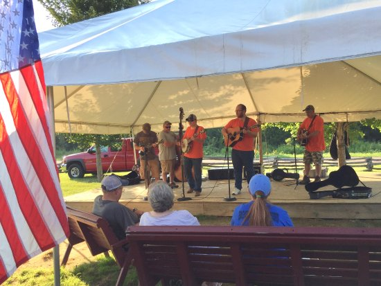 "Chuckey, TN : ""Boots on the Ground"" bluegrass, quite good"