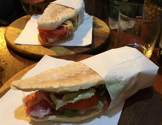 De Santis: Great panino