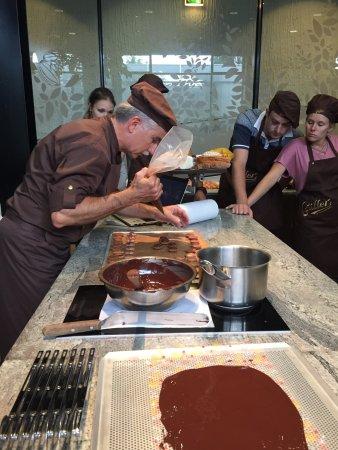 Broc, سويسرا: Maison Cailler Chocolaterie