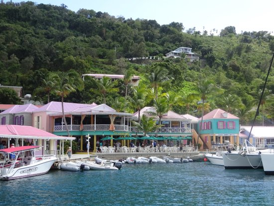 Road Town, Tortola: This is Pusser's Landing.