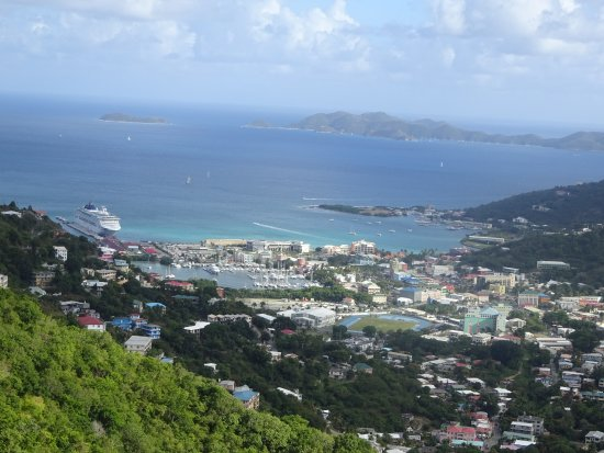 Tortola Highlights Tour: This Road Town, Tortola.