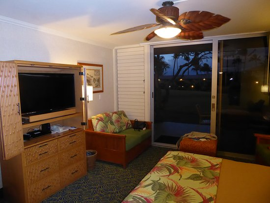Napili Shores Maui by Outrigger : Just a fan and no a/c