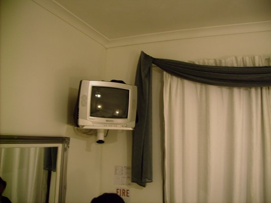 Riebeek-West, South Africa: ...a wall mounted TV