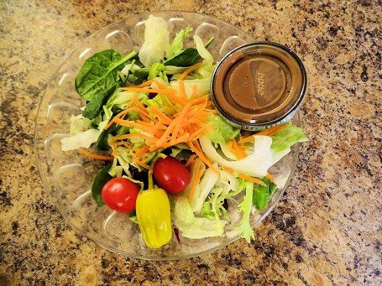 Tryon, NC: good salad