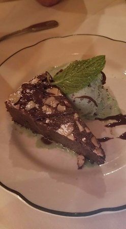 The Pelican Club: Chocolate Decadence with Mint Chocolate Chip Ice Cream