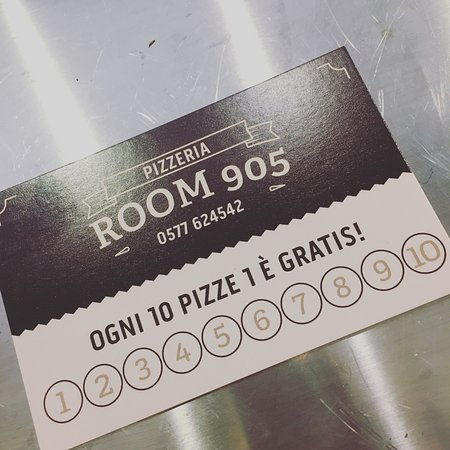 Bettolle, Italy: PIZZERIA Room 905