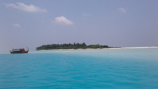 Bodu Mora: Vista dal mare
