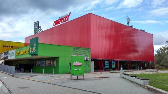 Novo Mesto, สโลวีเนีย: Modern cinema