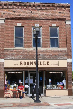 The Boonville Store has items for sale that local artists and crafter's have made.