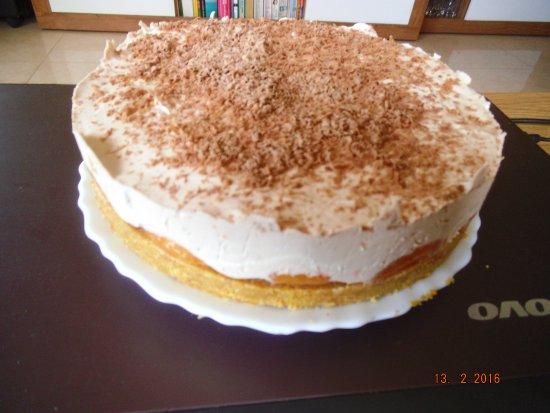 Almoradi, Spanien: delicious cheesecake