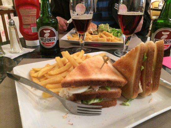 Avranches, Francia: Lækker frokost