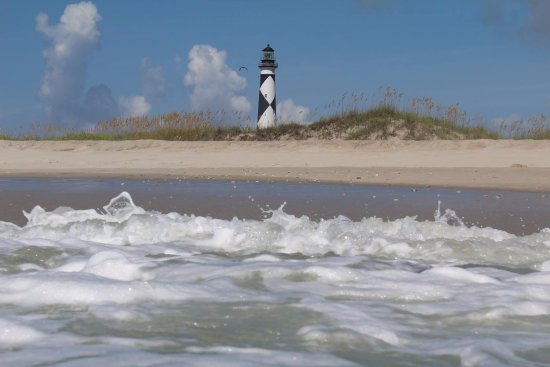 Beaufort, Carolina do Norte: The Cape Lookout Lighthouse