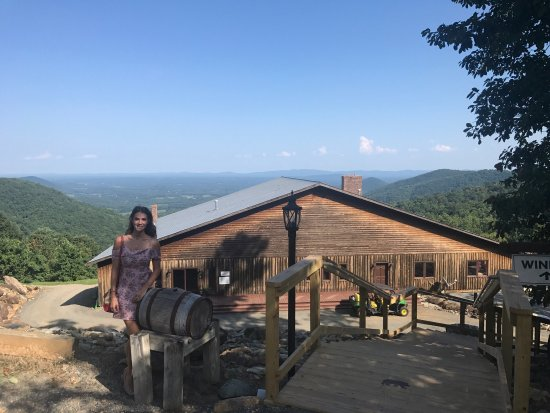 Dyke, VA: Best winery scenic view in Virginia