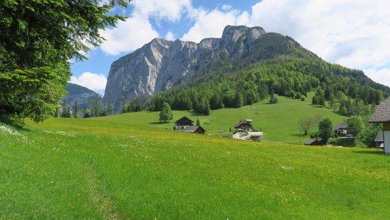 G'sund & Natur Hotel DIE WASNERIN: Aussicht zum Loser