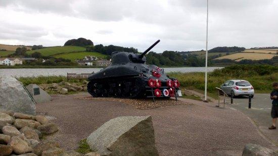 Slapton, UK: Sherman Tank