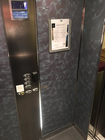 Renaissance Malmo Hotel: Elevators, not really my style in terms of design