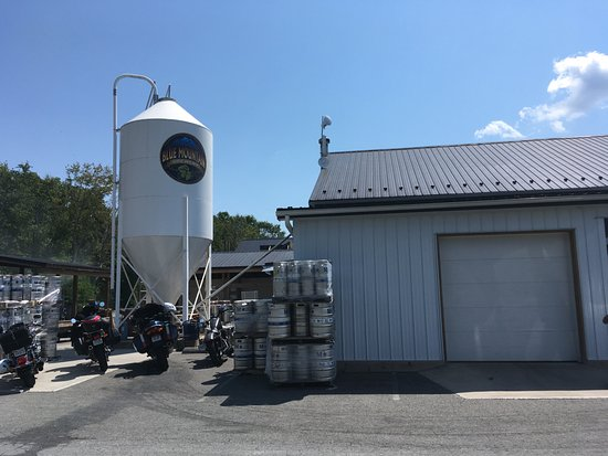 Afton, VA: the real deal - brewed on site