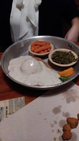 Ozark, MO: Country fried steak