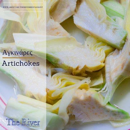 Агия-Фотия, Греция: Φρέσκες Αγκινάρες από τον Κήπο μας! | Fresh Artichokes from our Garden!