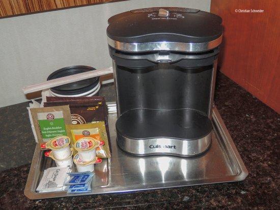 Melville, Nova York: Cafeteira padrão Hilton USA