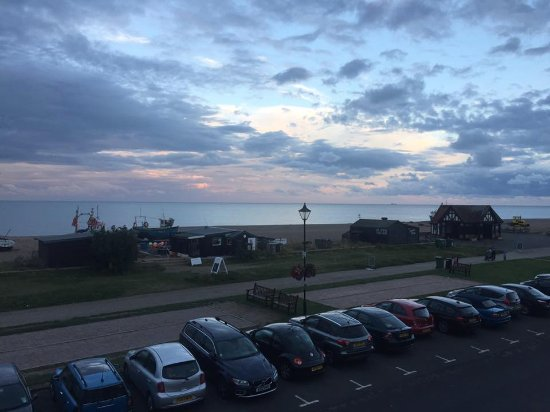 Aldeburgh, UK: View from my room at the White Lion Hotel