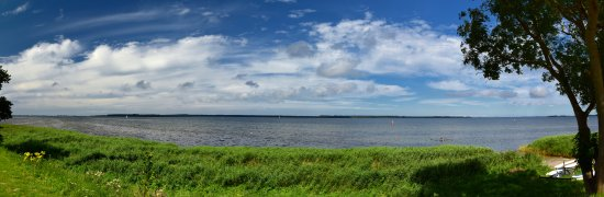 Rugen Island, Germany: Blick nach Hiddensee