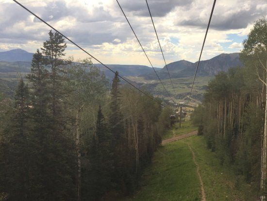 Telluride, CO: View towards airport