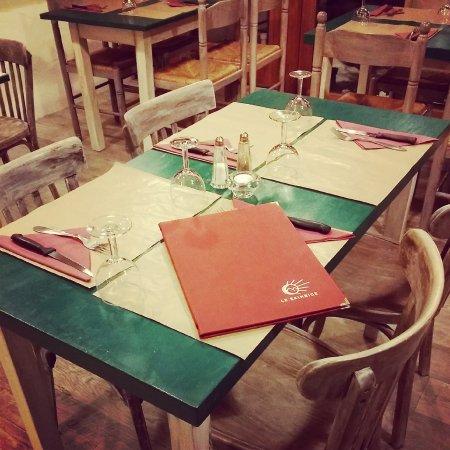 Allevard, France: Nos tables