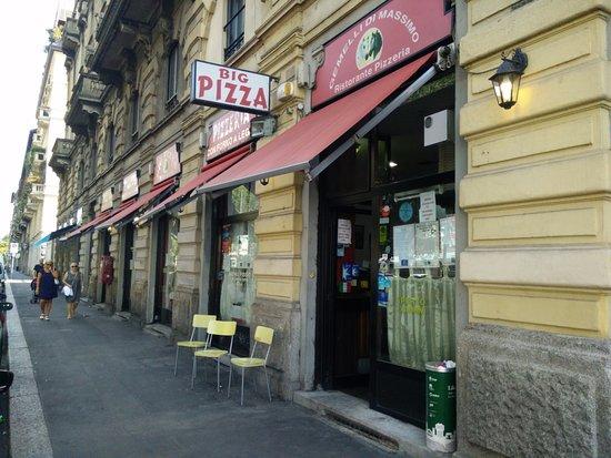 Pizzeria gemelli di massimo milano navigli ristorante for Gemelli diversi ristorante milano