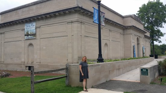 The Heckscher Museum of Art: a visit with a friend