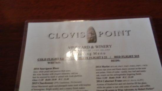 Jamesport, Estado de Nueva York: tasting menu