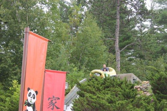 Story Land: Bamboo chute