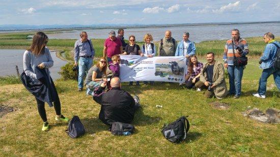 Ipsala, ตุรกี: Göl kenarında hatıra fotoğrafı