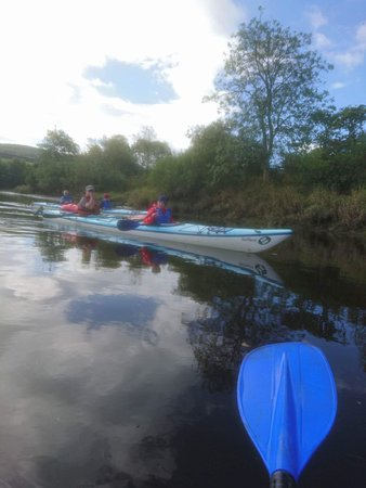 Blairgowrie, UK: Family kayaking 20/08/17