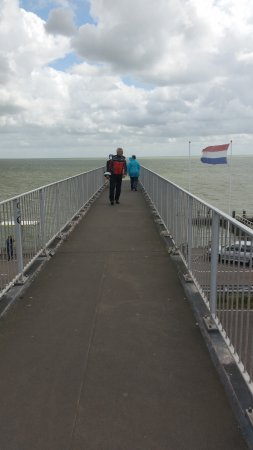 Den Oever, The Netherlands: vista