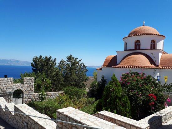Pothia, Grækenland: Монастырь святого Савваса