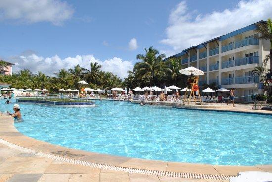 Sauipe Pousadas: Piscina do Resort - Ala Água. Aqui a diferença fica bem óbvia.