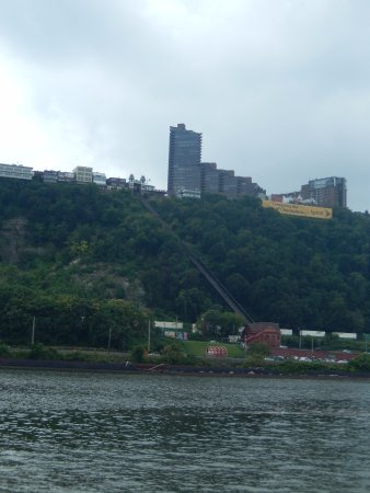 Point State Park: Duquesne Incline from the park