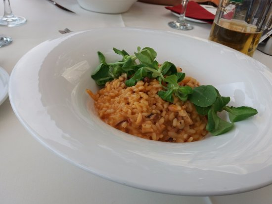 Konoba Toranj: Risotto with octopus and smoked sausage