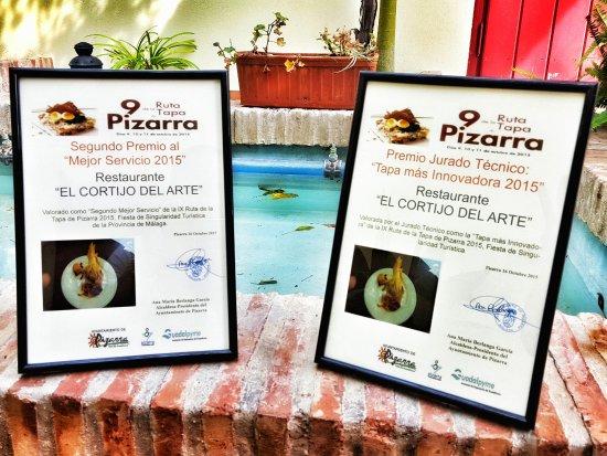 Pizarra, Spain: Premios