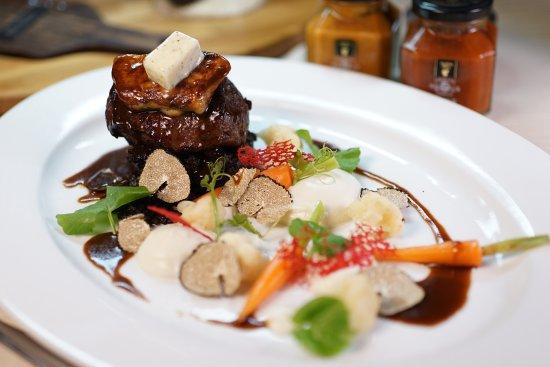 DaVinci Restaurant & Bistro: Rossini with Foie Gras and Truffle
